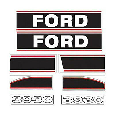 F3930 New Ford Tractor 3930 Hood Decal Set