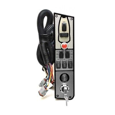 MasterCraft Boat Ignition Panel 500229R | Red X-Star Inboard