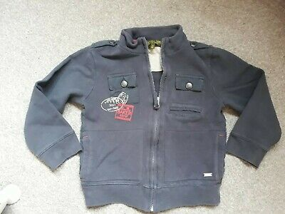 A Boys Ted Baker Zip Up Top Size 6 Years