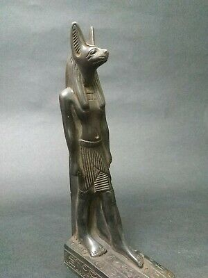 Raer Antique  Anubis Ancient Egyptian God of the Afterlife Figurine