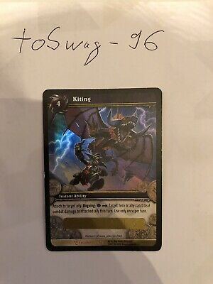PTERRODAX HATCHLING X 4 WORLD OF WARCRAFT WOW TCG REIGN OF FIRE CRAFTED