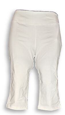 Women with Control Women's Petite Pants SP Wicked Pedal White A352759