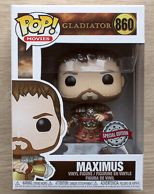 Funko Pop Gladiator Maximus Armour + Free Protector