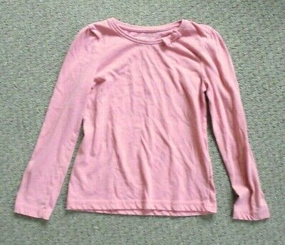 Girls Young Dimension Yd - Pink Long Sleeve Top - Size 7-8 Yrs - Ae9