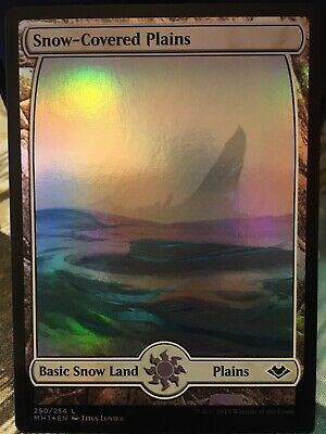 Russian Foil Snow-Covered Island MTG NM Modern Horizons Magic The Gathering