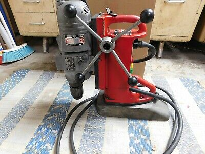 Milwaukie 4292-1 Electromagnetic Drill Press Two Speed Adjustable Position