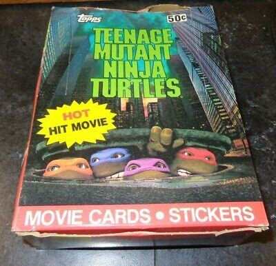 What About My Story #63 Teenage Mutant Ninja Turtles 1989-1990 Topps Card C2519