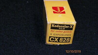 Vtg Kodak Kodacolor-X  CX 828   Film Develop before dated 1973 Very Rare