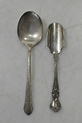 Sterling Silver .925 Alvin Spoon & Gorham Soft Cheese Scoop 76g Flatware