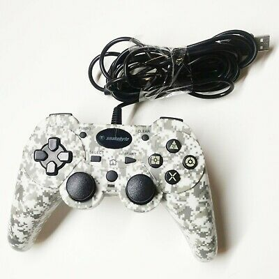 Snakebyte Wired Controller (White Camo) for Sony Play Station 3 PS3