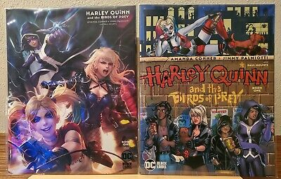 Harley Quinn And The Birds Of Prey #1 Regular & Variant (Dc Black Label) Conner