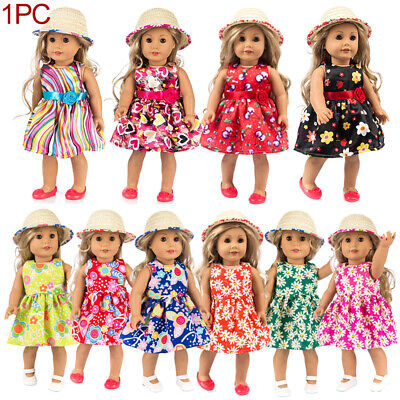 New Handmade Doll Clothes Dress Accessories Lot For 18 inch American Girl Doll#