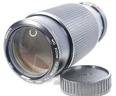 【Excellent+++++】 Minolta MD 70-210mm F/4 Telephoto Zoom Lens Macro from Japan