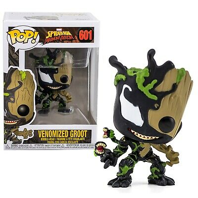 Marvel Spider-Man Venomized Groot Funko Pop #601 Bobble-Head Brand New