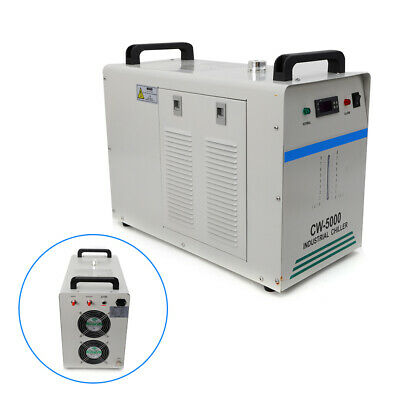 Cw-5000 Thermolysis Industrial Water Chiller For 60 / 80W Co2 Glass Tube 220V