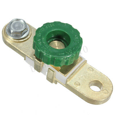 Car Motorcycle Aluminum Quick Cut Off Switch Side Post Battery Master
