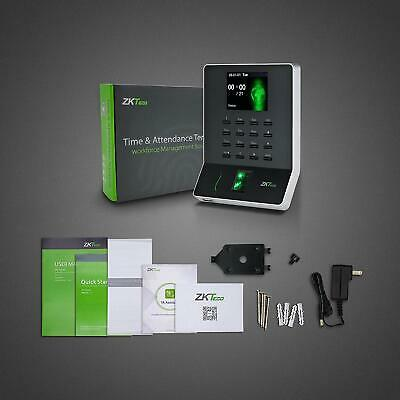 Fingerprint Attendance Machine Biometric Time Clock Attendance Payroll Recorder