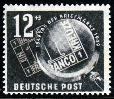 EAST GERMANY (DDR) 1949 The Stamp Day Issue SG E4 MINT