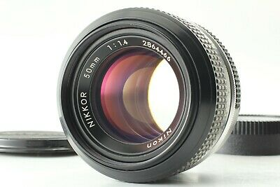 [Mint] Nikon New Nikkor 50mm f/1.4 Non AI Prime MF Lens for F Mount From JAPAN