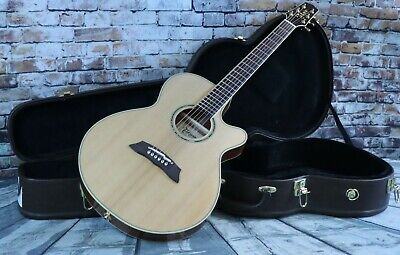 Takamine Thinline TSP138C Acoustic/Electric Guitar w/HSC- Made In Japan
