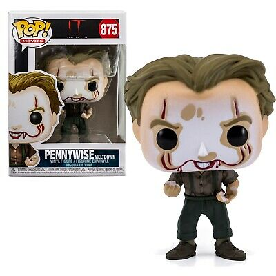 IT Chapter 2 Pennywise Meltdown Funko Pop #875 Movies Vinyl Figure Brand New
