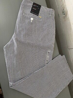 Tommy Hilfiger NWT Crop Dress Pants Size 10 Womens (seersucker)