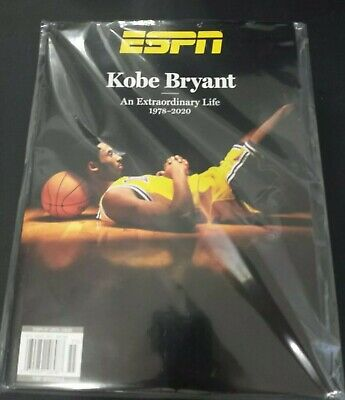 ESPN Magazine - KOBE BRYANT Tribute Issue Special Edition 2020 new bagged