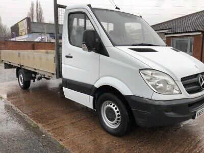 mercedes sprinter dropside lwb 16FT no vat