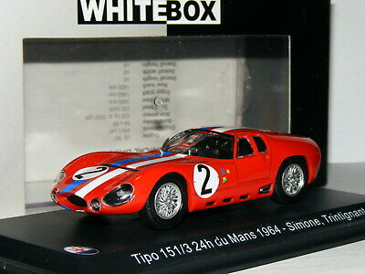 WhiteBox WBS044 Maserati Tipo 151/3 1964 Le Mans #2 1/43