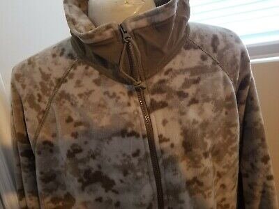 Peckham USMC Desert Digital MARPAT Polartec Jacket Wind Pro Fleece Large Reg