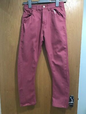 Indigo @ Marks & Spencer Twisted Seam Jeans, Aged 11 Years