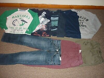 Bundle Boys Clothes age 8-9yrs Next  Mantaray  Jeans Joggers Tops Sweatshirt