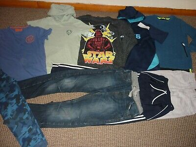 Bundle Boys Clothes age 9-10yrs Next Star Wars Jeans Tops Hoodi Joggers Pyjamas