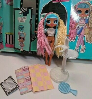 L.O.L O.M.G Doll Candylicious with some accessories and fresh in box LOL OMG