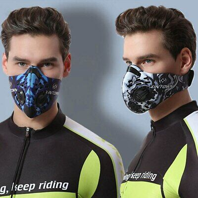 Face Mask Carbon Dust-proof Activated Anti-Pollution outdoor face mask Unisex