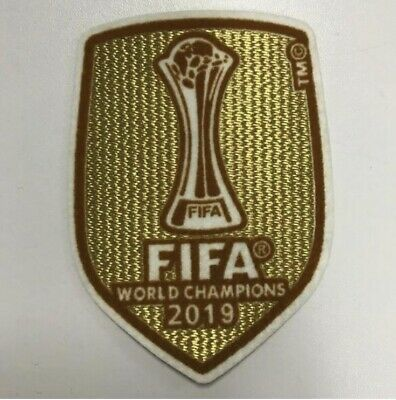Liverpool Club World Cup Badge Patch 2019 UK SELLER