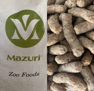 Mazuri Zoo Food Reptile EXOTIC Leaf Eater Tortoise Food Dry Diet FREE UK POSTAGE