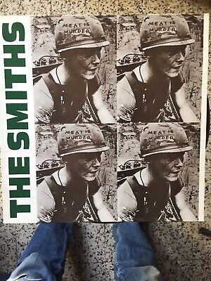 The Smiths, Meat Is Murder, Orig 1985 Rough Trade Lp, Morrissey, Excellent Audio