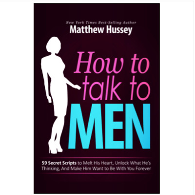 How to Talk to Men by Matthew Hussey EB00k ✅P-D-F✅