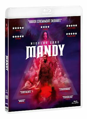 Mandy  Tombstone Collection  - Blu Ray  Blue-Ray Horror