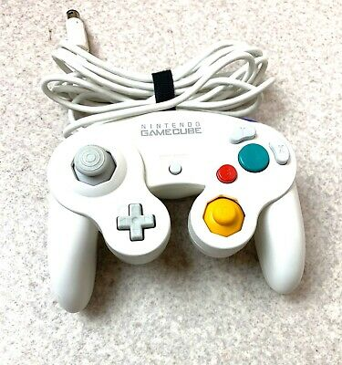 Nintendo Gamecube Controller White Classic OFFICIAL product Switch