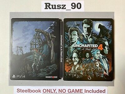 STEELBOOK ONLY Uncharted 4 A Thief's End PS4 Special/Collectors Edition