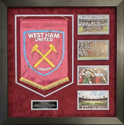 West Ham United SIGNED AUTOGRAPH by 24 Pennant Declan Rice AFTAL UACC RD