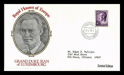 Dr Jim Stamps Grand Duke Jean Of Luxembourg Houses Of Europe European Size Cover