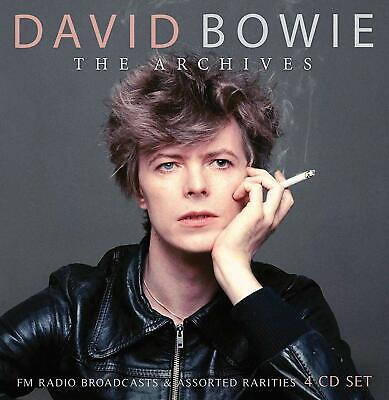 DAVID BOWIE 'THE ARCHIVES' (Radio Broadcasts & Rarities) 4 CD Set (2020)
