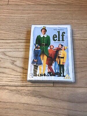 elf dvd starring will ferrell in brand new condition
