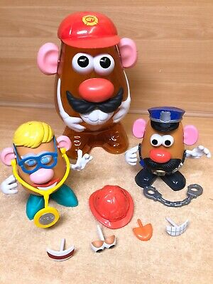 Mr Potato Head Storage Case With 2 Potatoes Accessories HASBRO TOY STORY Police
