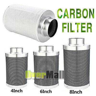 6 X 14 HYDROPONIC CARBON FILTER NOW WITH 148 CFM FAN ODOR REMOVER  *REFILLABLE*
