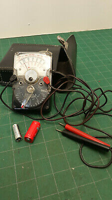 Triplett 310-C  in GREAT SHAPE !  analog multimeter- nice with leather pouch