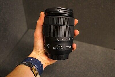 Canon EF-S 18-135mm IS USM Lens, Never Been Used